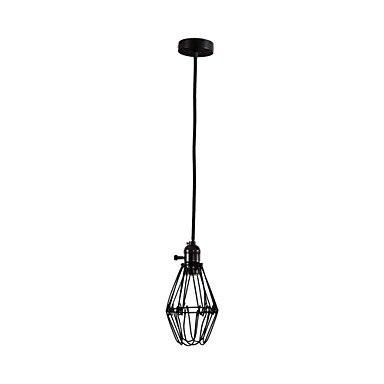 Retro Loft Lamp Style Vintage Pendant Industrial Lighting Lotus Flower Edison Bulb, Lamparas Lustres E Pendentes De Sala<br>