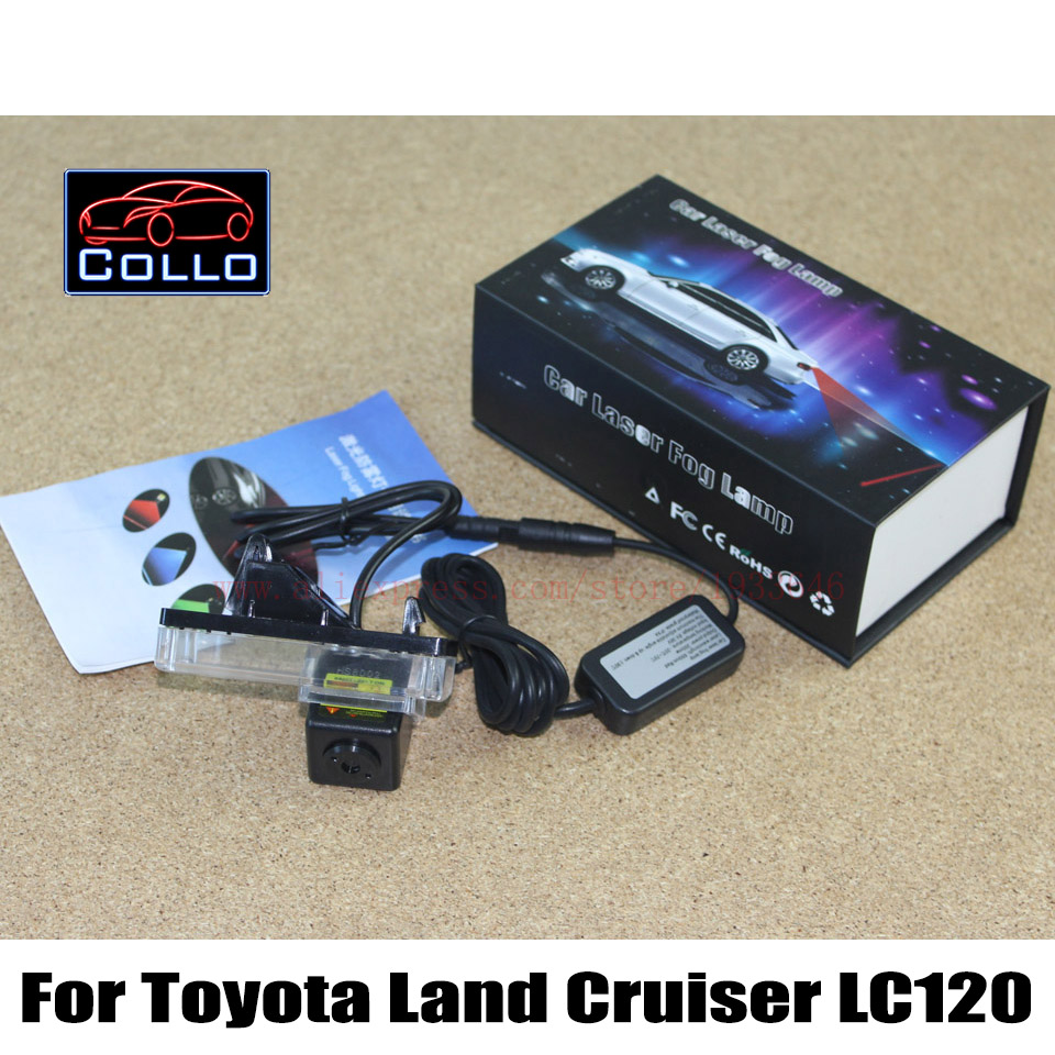 Safety Laser Fog Lights / For Toyota Land Cruiser 120 Prado 2002~2009 / Car Anti-Rear Fog Lamp / Vehicle Collision Warning Light<br><br>Aliexpress