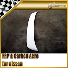 Car-styling FRP Fiber Glass RB Style Rear Spoiler Fiberglass Trunk Wing Fit For Nissan R32 GTR