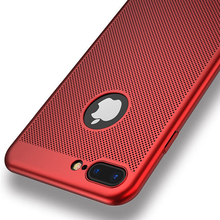 DOEES Phone Case iPhone 7 6S 6 Plus 5 5S SE Cases Luxury Hollow Breathable Hard PC Cover Samsung Galaxy S8 - XIAOYI OfficialFlagship Store store