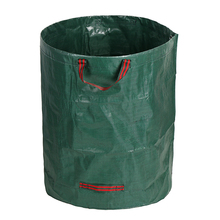 Plant Bag Organic Waste Storage Basket Garden Yard Compost Bag Organic Fertilizer Bag shipping Picnic Organizer PE Cloth Planter(China)