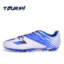 TOURSH Outdoor FG Football Boots Men Boy Kids Trainers Soccer Shoes Cleats Boot Brand Athletic Sports Sneakers Men Size 33-43