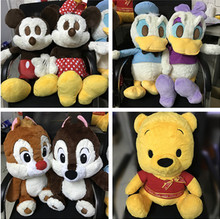 Cute Large Mickey Minnie Chip Dale Daisy Donald Duck Bear Plush Toy Soft Stuffed Animals Baby Kids Toys for Children Girls Gifts
