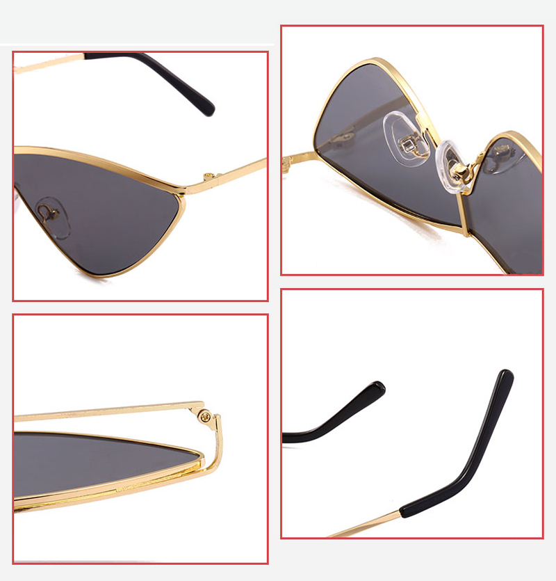 metal cat eye sunglasses women small 0335 details (10)