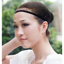 1 Pc Fashion Stretchable Mesh Wig Cap Elastic Hair Snood Nets for Cosplay Free Shipping L04176(China)