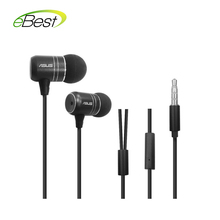 Original Asus earphone Microphone fashionable music stereo mobile phone in ear headset 3.5mm plug suit for all kinds of palyers(China)