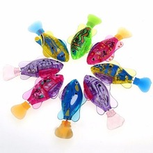 Holiday Gift Electronic Fish Robofish Activated Battery Powered Robo Fish Toy Childen Robotic Pet can Swims