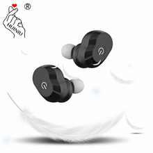 HUINIU Wireless Earphone Mini Bluetooth In-Ear Earbuds Handsets Head phone With Battery Dock Microphone for iPhone Xiaomi phone(China)