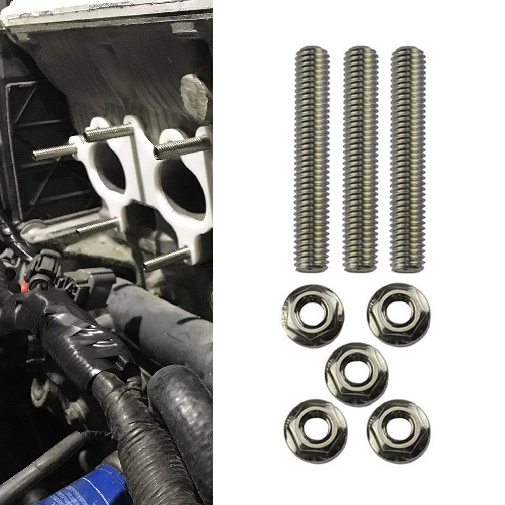 Intake /& Exhaust Manifold Extended Stud Kit Fit For Honda Acura B18 B16 D16 H22