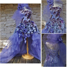 Custom made Vintage Costumes /Gothic  Dress Victorian dresses/Renaissance dress R-493