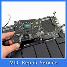 "For MacBook Pro Retina 15"" A1398 MC976 i7 2.7Ghz 8GB Logic Board Motherboard Repair Service 661-6539 820-3332-A Mid 2012(China)"
