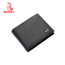 2017 top fashion men wallets famous brand genuine leather coin wallet solid short card holder designer purses coin pouch cartera