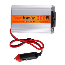 200W Car Inverter DC 12 V to AC 220 V Power Inverter Transformer Vehicle Converter Supply Switch Inversor de carro(China)