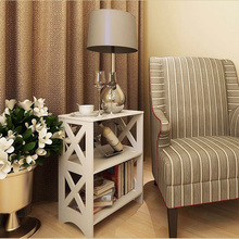 New Arrival Wooden Book Holder Shelf Home Storage Cabinet for Bedroom Furniture 27*40*57CM(China)