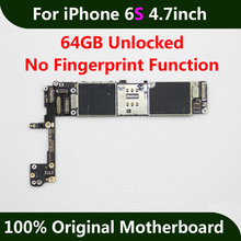 For iPhone 6S 4.7inch Motherboard 64GB Unlocked Mainboard Without Touch ID 100% Working Original IOS Logic Board Worldwide Use(China)