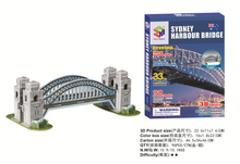 Hot sales jigsaw puzzle Sydney Bridge Australia 3D puzzle Educational toys three-dimensional puzzles for children and adult(China)