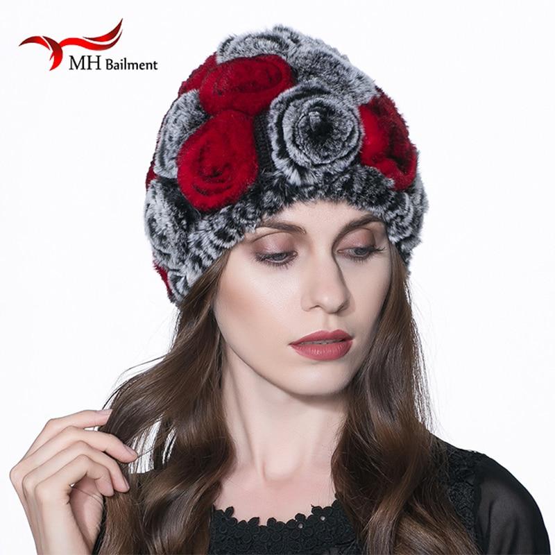 Hot Sale Winter Fur Hats Women Natural Rex Rabbit Fur Caps Wholesale Retail Real Rex Rabbit Fur Beanies Hats warm H#1Одежда и ак�е��уары<br><br><br>Aliexpress