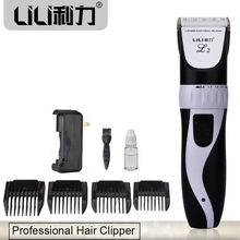 New arrival Professional Electric Hair Clipper Haircut Trimmer for Men Baby Salon Tools Cordless Clipper 18650 Battery