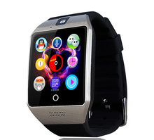 NEW Bluetooth smart watch Apro Q18 Support NFC SIM GSM Video camera Support Android/IOS Mobile phone pk GT08 GV18 U8