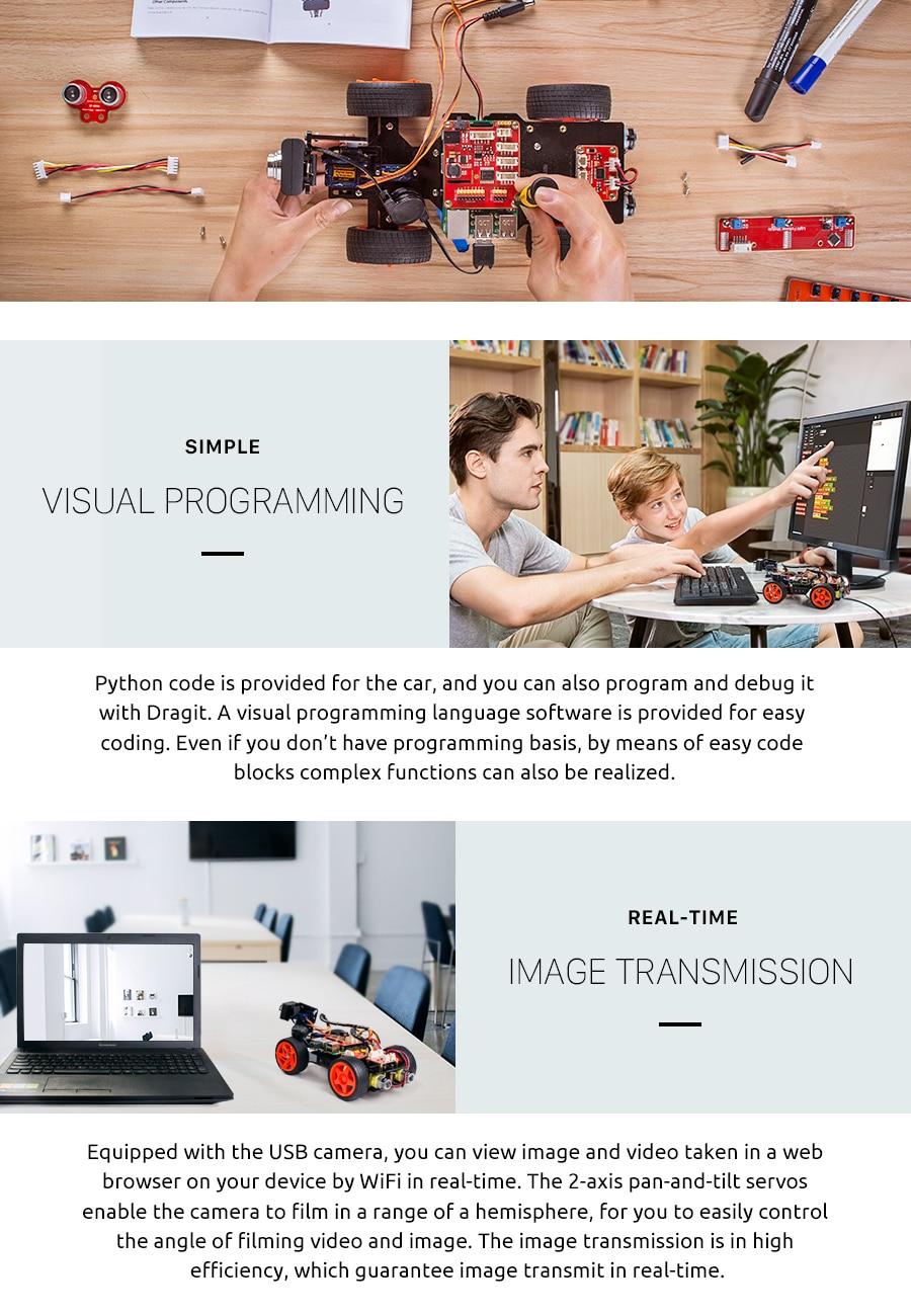 Raspberry Pi Smart Video Car Kit V2 (8)