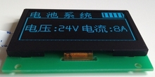 NoEnName_Null 2.4 inch 10PIN Blue OLED Display Screen Module SSD1309 Drive IC128*64 SPI Interface 5V(China)