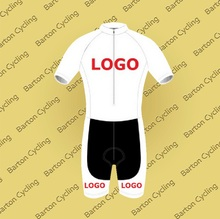Custom Short Sleeve Skinsuit Jersey&Shorts Overall Bike Racing Team Road Biker Cycling Sports Padded Suit Set S101(China)