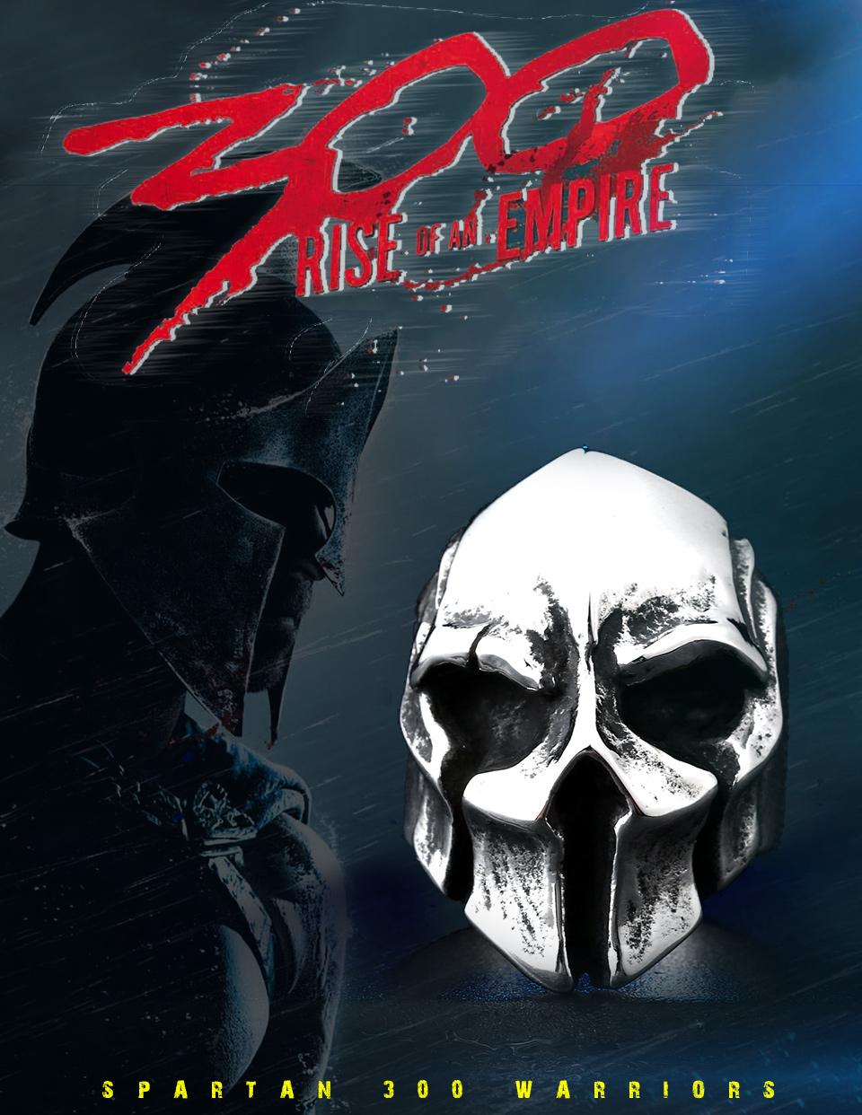 แหวนโคตรเท่ห์ Code 022 แหวน Spartan Warriors สแตนเลส1