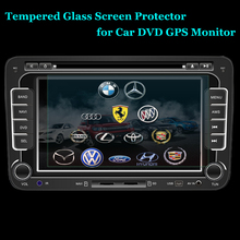 Unidopro 175x99 176x99 152x85 Glass LCD Guard for Honda XRV Car GPS PDA MP4 Video DVD Premium Tempered Glass Screen Protector(China)