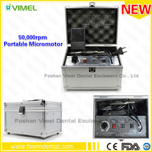 NEW Portable 50,000 RPM dental micromotor Non-Carbon Brushless electric motor Polishing Unit