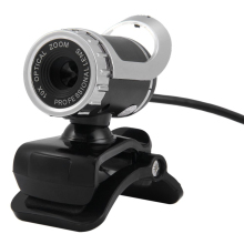 360 Degree Rotatable Webcam 12.0MP 640P High Definition Web cam Network Computer Camera w/ Built-in Mic for PC Laptop