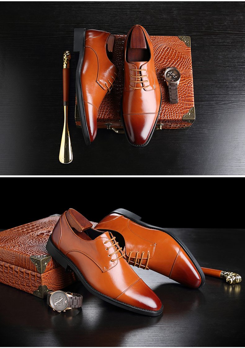 Mens Casual Shoes' Moccasin Men's Oxfords Shoes Men Winter Classic Party Wedding Men Casual Shoes Flats Formal Shoe Business New (7)