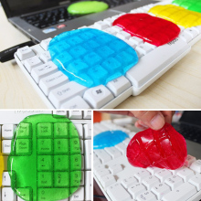 Wiper Keyboard Cleaner Super Clean Slimy Gel Laptop Home Dust All-purpose Miraculous Cleaning Tool Color Random