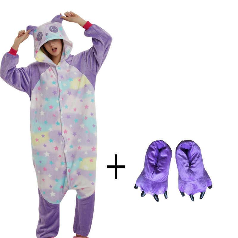 Подробнее Обратная связь Вопросы о Более дешевые звезда шаблон комбинезон  панда с тапочки костюм ниндзя Взрослого Животного Пижамы для Хэллоуина Для  мужчин ... fd9f2fcd8d15c