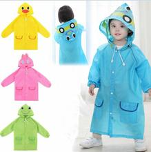 Cartoon Funny Hot Kids Rainwear Children Waterproof Cute New Baby Raincoat(China)