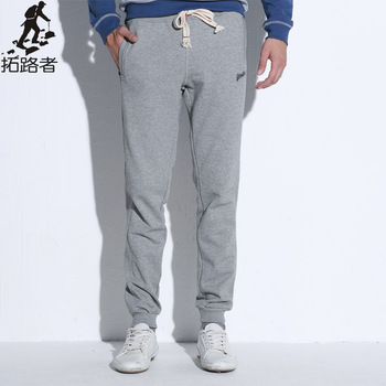 Pioneer Camp joggers men 2017 Top quality casual pants men brand clothing male sweatpants  trousers Dark blue red Grey black