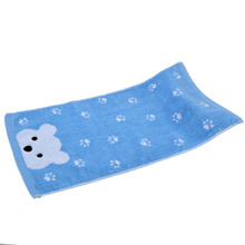 Exquisite design Comfortable Baby Face towels 100% Cotton Soft face bear Bath Towel For Children