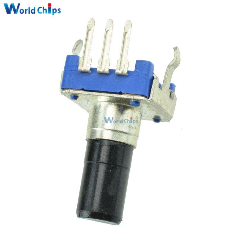5PCS Rotary Encoder With Switch EC11 Audio Digital Potentiometer Handle HU