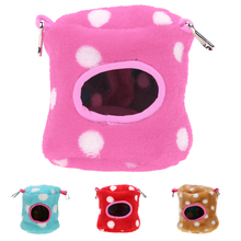 Hot !!! Small Animal Pet Hamster House Soft Bed Basket House Pet Squirrel Fox Hamster Bed Pet Nest Cushion Factory Price PTSP