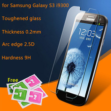 Tempered glass screen protector for Samsung galaxy s3 Neo i9301 SIII I9300 Duos protector HD clear film guard Crystal Shield