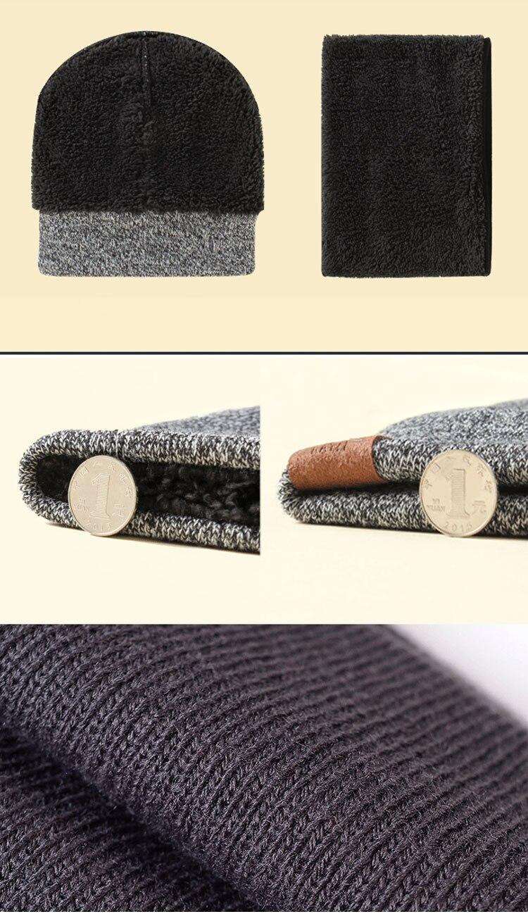 scarf gloves hat set women men winter scarf hat set winter hat scarf and glove set smart touch screen texting gloves set (5)