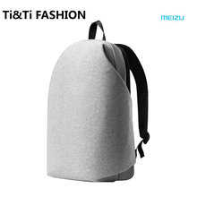Original Meizu Large Backpack Men Women Backpack Fashion Gray/Black Backpack Classic Business Brand 15.6  inch Laptop Backpack