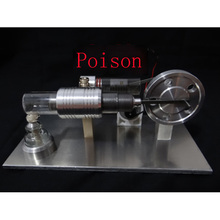Cool !Miniature Stirling engine 'POISON' Stirling engine engine generator model hobby Educational Toy Kits(China)
