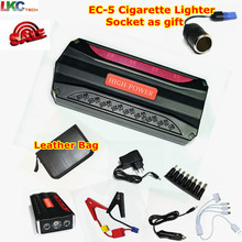Discount!!! Car Jump Starter 12V Car Charger Portable Power Bank Emergency WIth 4 Batteries Starter For Petrol & Diesel Car