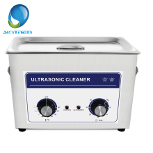 Skymen Stainless Steel 4.5L Knob Timing Heated Ultrasonic Cleaner Bath 40kHz 180W Ultra Sonic Wave Cleaning Tank(JP-030)