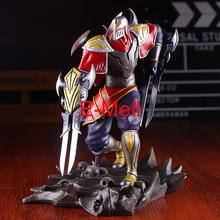 Cosplay LOL Master of Shadow Zed 19cm/7.5'' Boxed HI-Q PVC GK Garage Kit Action Figures Toys Model