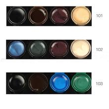 1PC=4 Colors Brand Pro  Gel Eyeliner Makeup Eye Liner Palette Eyeshadow Cream Smoke Eyes Makeup Set With brush From Music Flower