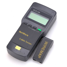 New SC8108 Multifunction Network Lan Cable Tester Meter Cat5 Phone Rj45 Rj11 Bnc