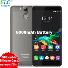 OUKITEL K6000 Pro 4G Smartphone 5.5'' FHD Android 6.0 MTK6753 Octa Core 3GB+32GB Cell phone 6000mAh OTG Fingerprint Mobile Phone
