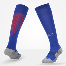 Adult and Kids Soccer Socks Professional Clubs Football Antiskid Thick Warm Socks Knee High Training Long Stocking Sports Socks(China)