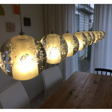 New arrive Crystal pendant Light  ball Meteor Shower Fixtures 14 Led bulbs Lamp home deco lighting Guaranteed 100% 9022